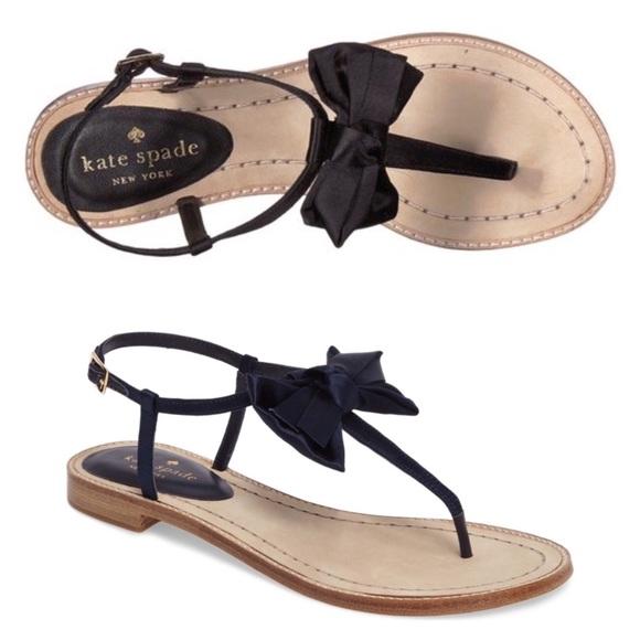 c8f5c59580db kate spade Shoes - Kate Spade Serrano Bow Sandals